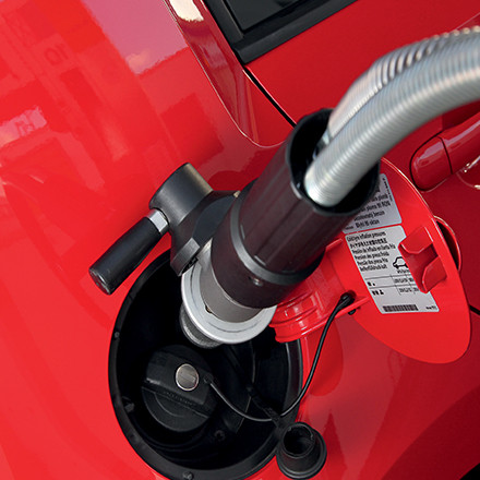 Газ для автомобиля