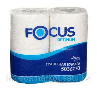 Туалетная бумага Focus Optimum, 2 сл. 4рулХ14пач