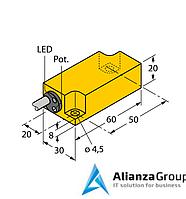 Емкостной датчик уровня TURCK BCF10-Q20L60-RP4X
