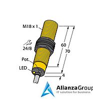 Емкостной датчик уровня TURCK BCF5-S18-RN4X