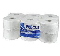 Туалетная бумага Focus мини рулон 2 сл. 12 рул по 168м