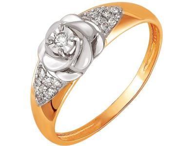 Золотое кольцо РусГолдАрт 1123713_1_5_1_17