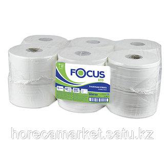 Туалетная бумага Focus 1сл. 12x200m