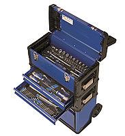 Набор инструмента в ящике на колесах,111 предм 9021 FTW520TS2