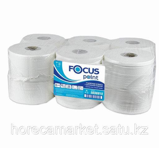 Туалетная бумага Focus с листовой подачей 2 сл.