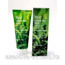 Пенка для лица с зеленым чаем 100мл