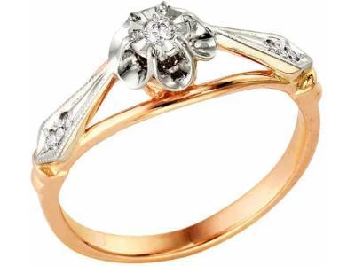 Золотое кольцо РусГолдАрт 1110213_1_5_1_17