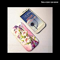 Чехол-крышка на телефон Samsung Galaxy S3/i9300 лилии