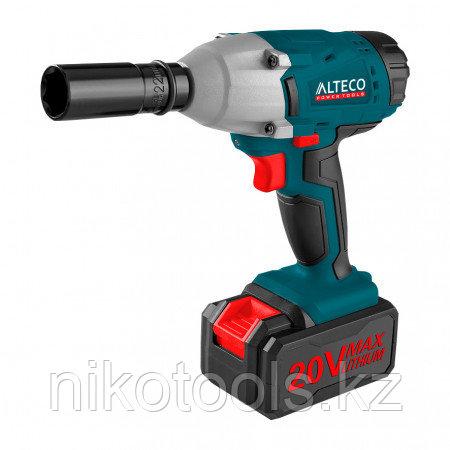 Аккумуляторный ударный гайковерт ALTECO CIW 18-400