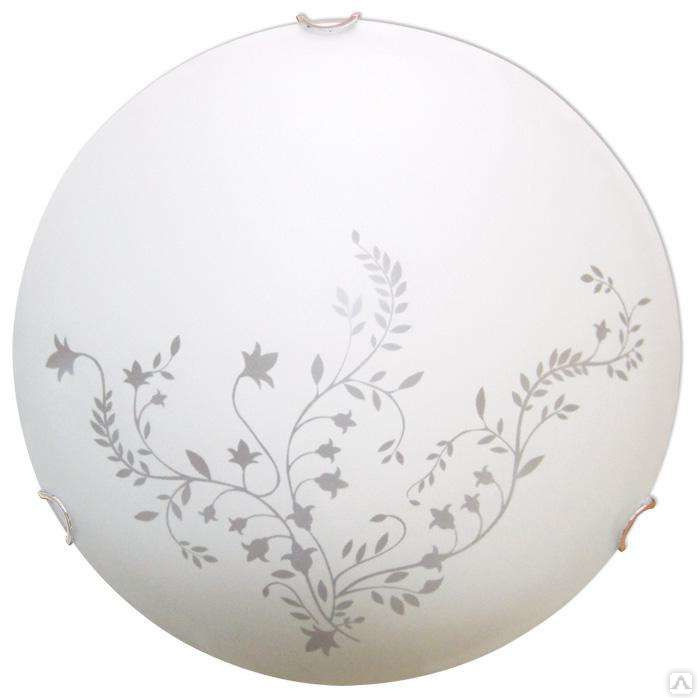 Светильник 400 Нежность НПБ 06-3*60 М65 матовый белый/кл.хром ИУ 00233