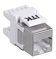 ITK Модуль Keystone Jack кат.5E, FTP, IDC Dual, вертикальная заделка