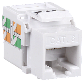 ITK Модуль Keystone Jack кат.6, неэкран., IDC Dual, горизонтальная заделка
