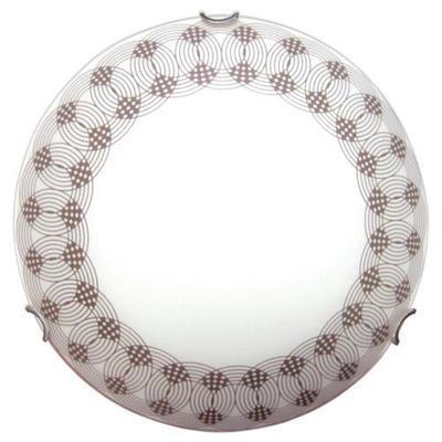 Светильник 400 Вальс НПБ 06-3*60 М65 матовый белый декор/кл.хром ИУ 00203