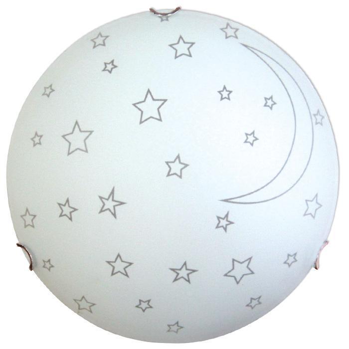 Светильник 300 Ночка НПБ 01-2*60-139 М16 матовый белый/кл.хром ИУ