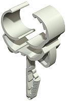 Трубный зажим SNAP 12-15,5mm на защелке с дюбелем /2148501/
