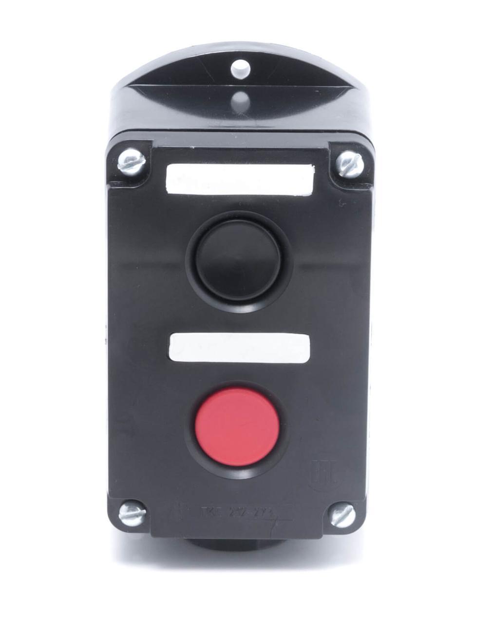 "Пост кноп. ПКЕ-222/2 ""Пуск-Стоп"" 1 черн. 1 красн."