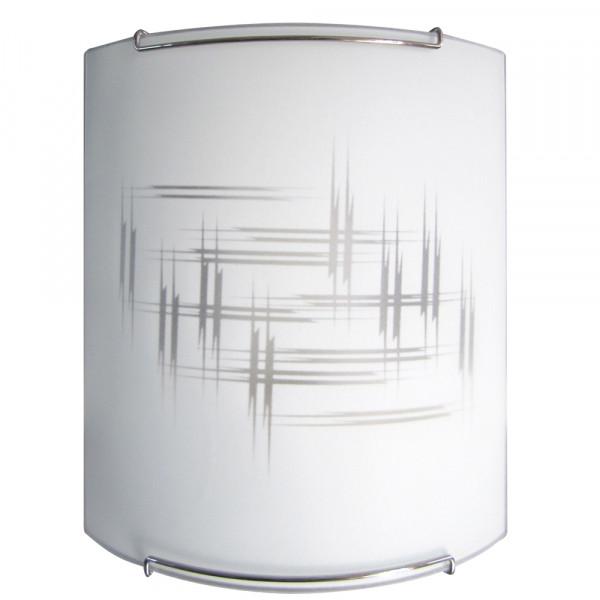 Светильник 210*290 Элегант НББ 21-60 М21 матовый белый/крепеж хром ИУ 02853