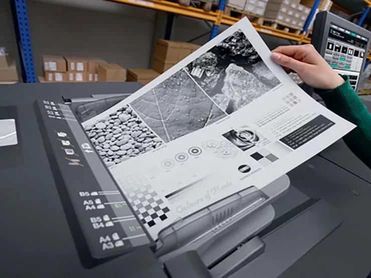 Цифровая Черно-Белая Печать А4