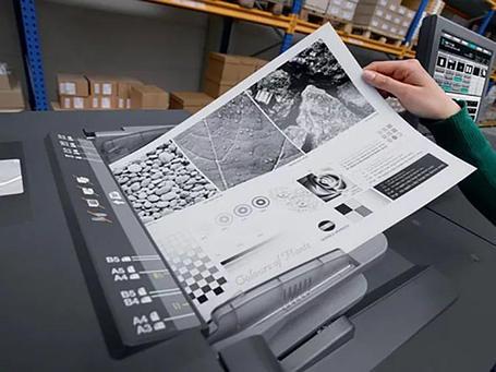 Цифровая Черно-Белая Печать А4, фото 2
