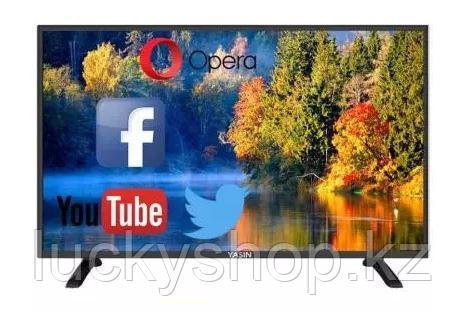 Телевизор LED Yasin 55E5000 SMART 4K черный, фото 2