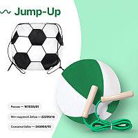 Набор подарочный JUMP-UP: мяч надувной, скакалка, рюкзак для обуви, зеленый, Зеленый, -, 39456 15
