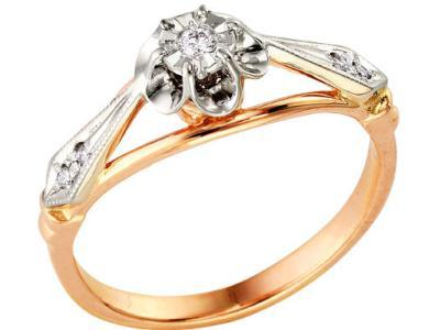 Золотое кольцо РусГолдАрт 1110213_1_5_1_165