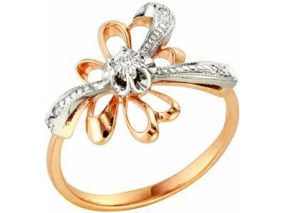 Золотое кольцо РусГолдАрт 1109613_1_5_1_17
