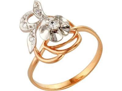 Золотое кольцо РусГолдАрт 1105713_1_5_1_18