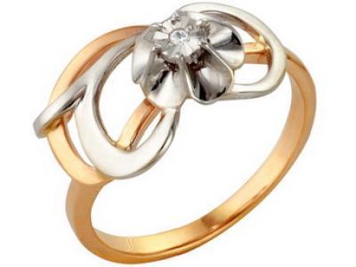 Золотое кольцо РусГолдАрт 1105313_1_5_1_17
