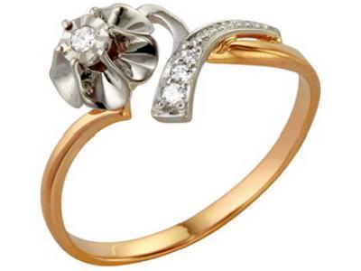 Золотое кольцо РусГолдАрт 1105113_1_5_1_175