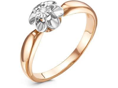 Золотое кольцо РусГолдАрт 1102113_1_5_1_165
