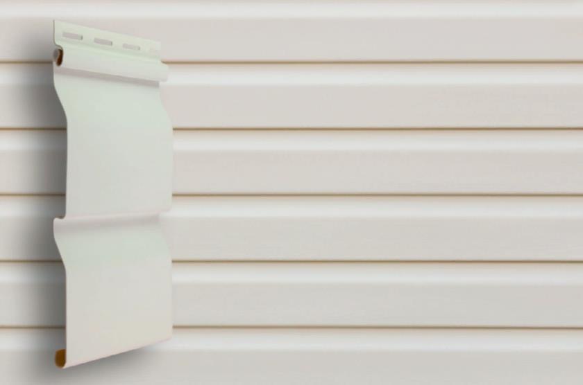 Сайдинг Белый  3600x0,224 мм Grand Line D4,4