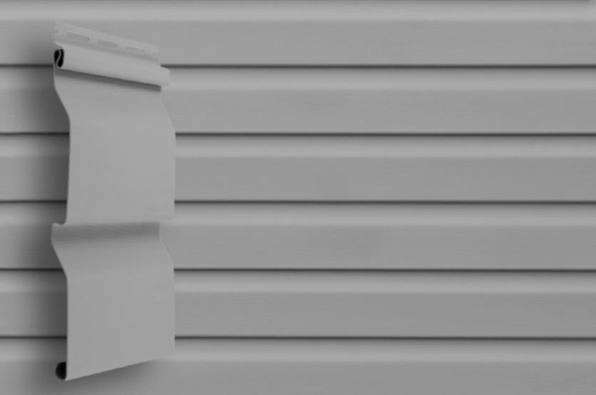 Сайдинг Серый 3600x0,224 мм Grand Line D4,4