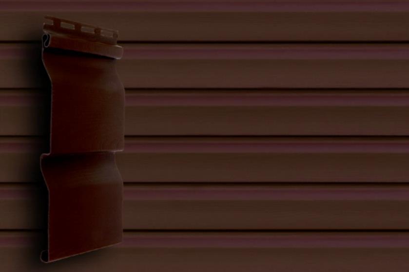 Сайдинг Темный дуб 3600x0,224 мм  Grand Line D4,4 Акриловый