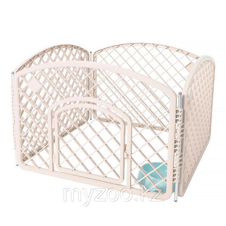 Вольер для собак 4-стенки Plastic Pet Rail