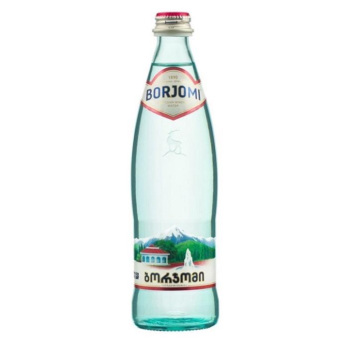 Borjomi (минеральная вода Боржоми) - 0,5 л. стекло