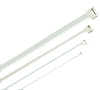 Хомут морозостойкий Хкм 4,8х200мм белый (100шт) IEK