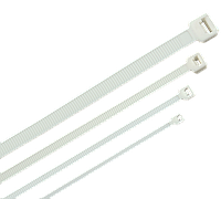 Хомут морозостойкий Хкм 4,8х380мм белый (100шт) IEK