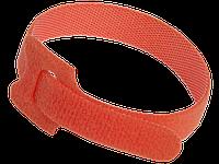 Хомут-липучка ХКл 14х135мм красный (100шт) IEK