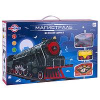 Wincars Железная дорога Магистраль с 1 паровозом и 2 вагонами