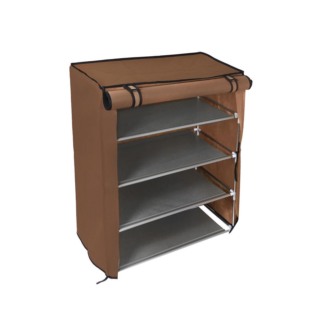 Тканевый шкаф для обуви