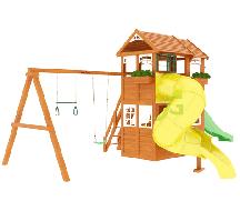 IgraGrad Клубный домик 2 с трубой Luxe