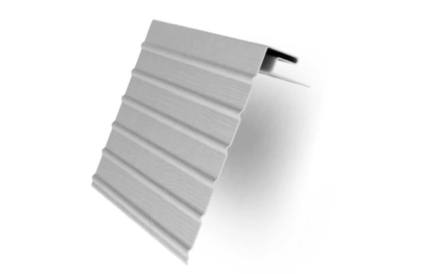 Фаска J  Белый 3000 мм Grand Line