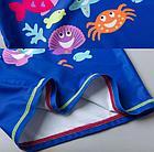 """Купальный костюм-тройка """"Морские жители"""", на 18-24 , 4 года, для девочки, фото 4"""
