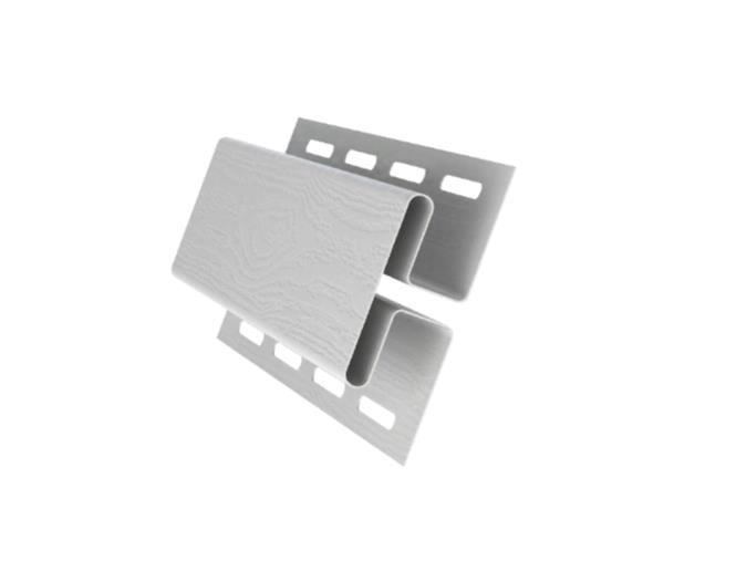 Профиль H соединительный Белый 3050 мм FineBer