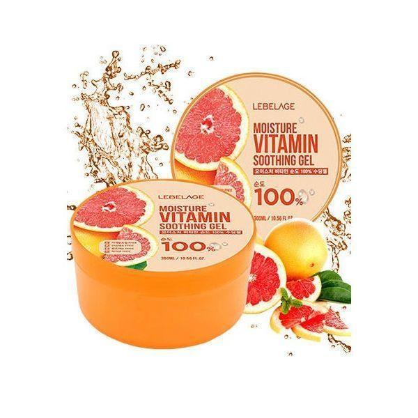 Гель универсальный LEBELAGE Moisture Vitamin 100% Soothing Gel  300МЛ
