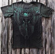 «Черный камикадзе» тотальная четырехсторонняя футболка мужская, фото 2