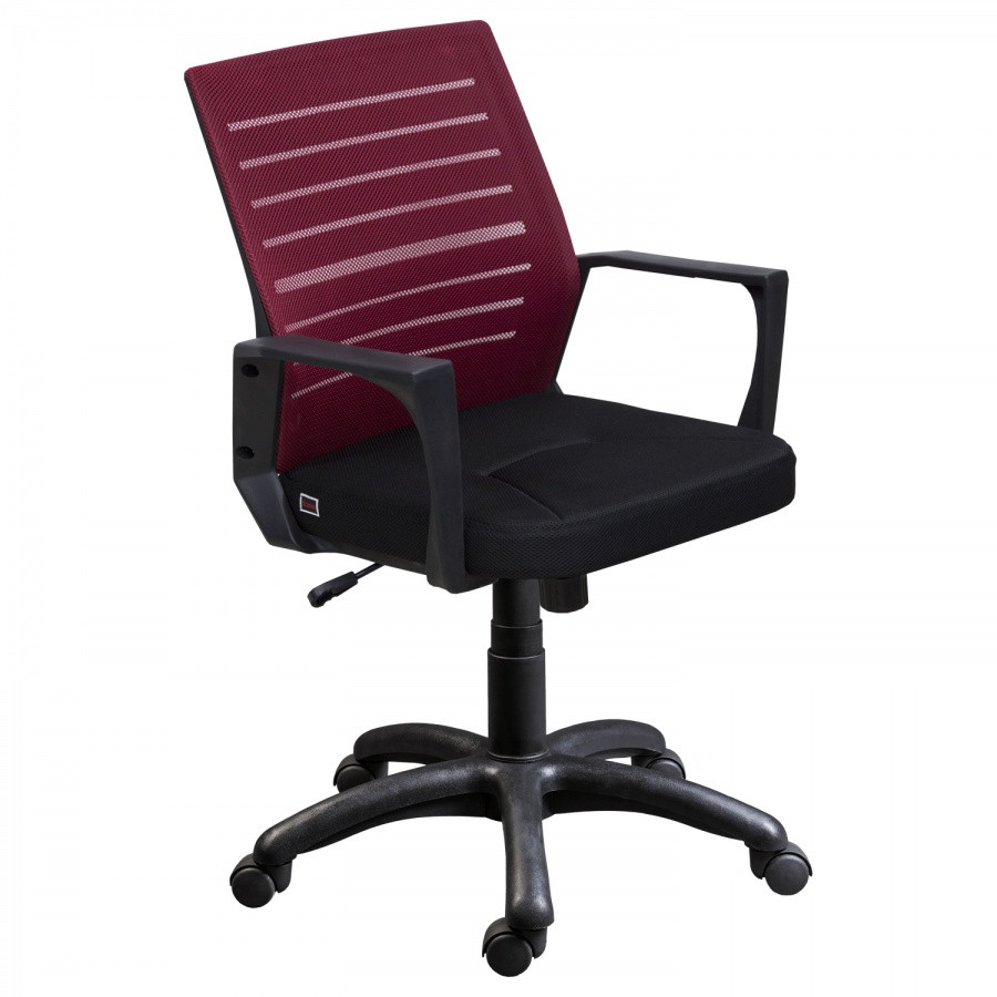 Сетчатое Офисное кресло М-3 (бордо)