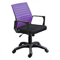 Сетчатое Офисное кресло М-3 (сиреневый)