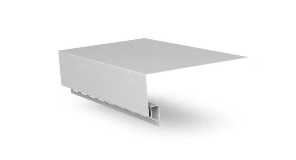 Планка околооконная Белый 3050 мм  FineBer